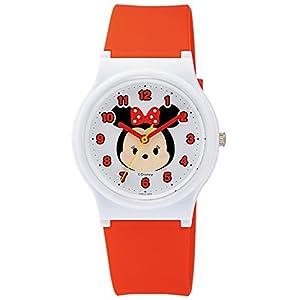 [シチズン キューアンドキュー]CITIZEN Q&Q 腕時計 Disney コレクション 『 TSUMTSUM 』 『 ミニーマウス 』 ウレタンベルト レッド HW00-002 ガールズ