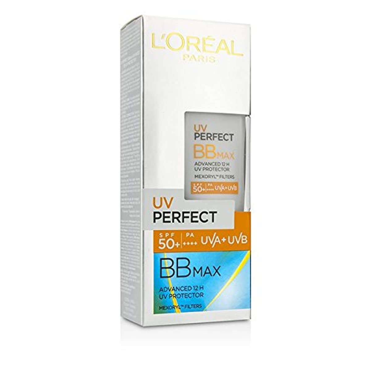 カヌー現金に慣れロレアル UV Perfect BB Max SPF 50+ Advanced 12H UV Protector 30ml/1oz並行輸入品