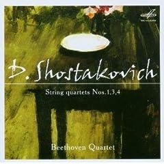 ベートーヴェンSQ演奏 ショスタコーヴィチ:弦楽四重奏曲集の商品写真