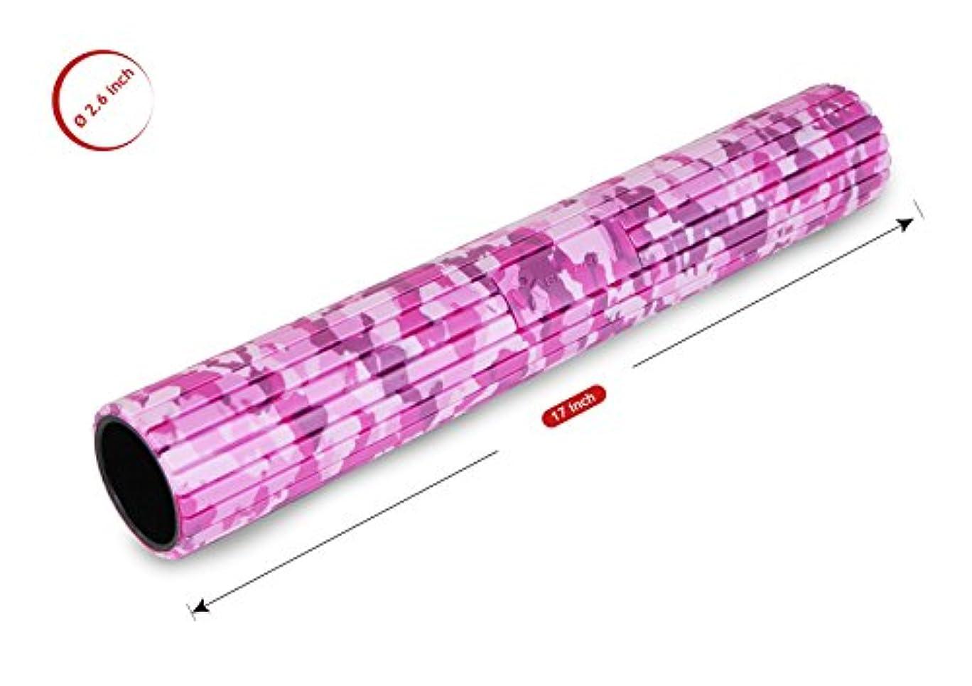 牛肉撃退する浸漬バランスワン 筋膜リリースマイオローラー(ピンク)