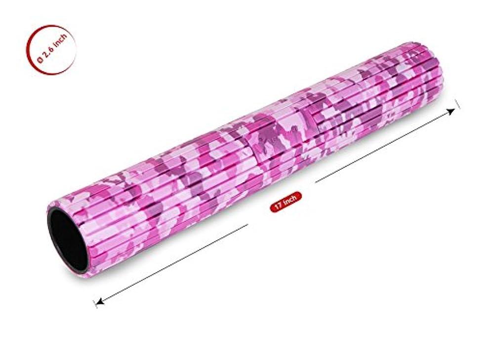 ミスペンドタイムリーな飛ぶバランスワン 筋膜リリースマイオローラー(ピンク)