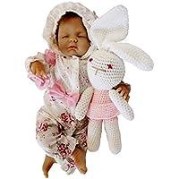 KESOTO 手作り 工芸品 18インチリボーンガールドール 赤ちゃん人形 抱き人形