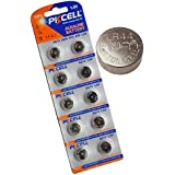 PK Cell Button Cell Battery-10PC x 357 SR44W LR44 A76 AG13