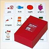 Tom's World 英語絵カードトランプサイズ02 (食事関連・学校関連(1)編 100枚入) (小学校英語で英語ノートに基づく教材としてピッタリ)