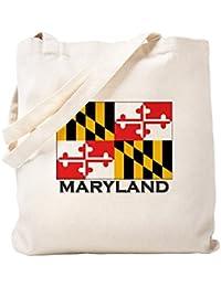 CafePress – メリーランド州フラグStuff Tote Bag – ナチュラルキャンバストートバッグ、布ショッピングバッグ S ベージュ 0078667409DECC2