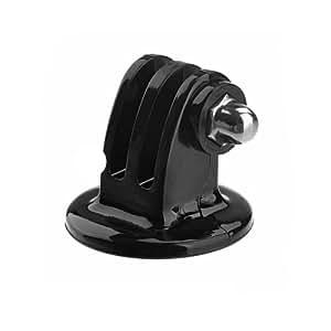 GoPro用 トライポッドアダプター  GoPro HEROカメラ用三脚マウント ブラックfor Gopro Hero 3 2 1GoProHD HelmetHEROを固定する場合に使用、 Go Proの汎用性を高めるには必須アイテム