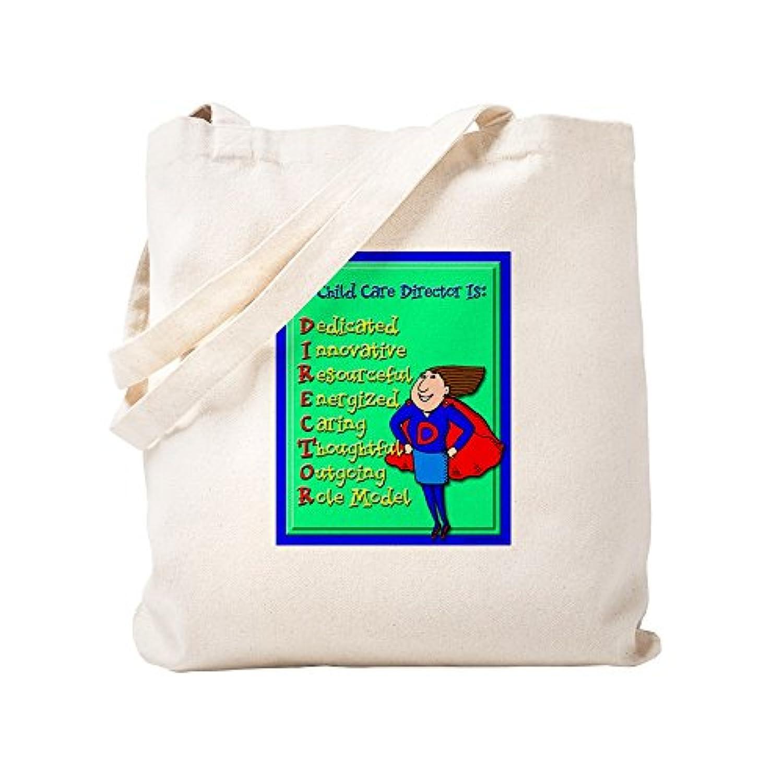 CafePress – d.i.r.e.c.t.o.r.子Care Director – ナチュラルキャンバストートバッグ、布ショッピングバッグ S ベージュ 0309478757DECC2