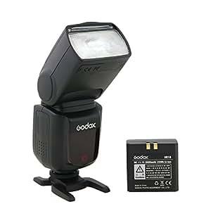 Godox V850 リチウム電池内置 スピードライト リチウムイオンカメラフラッシュ
