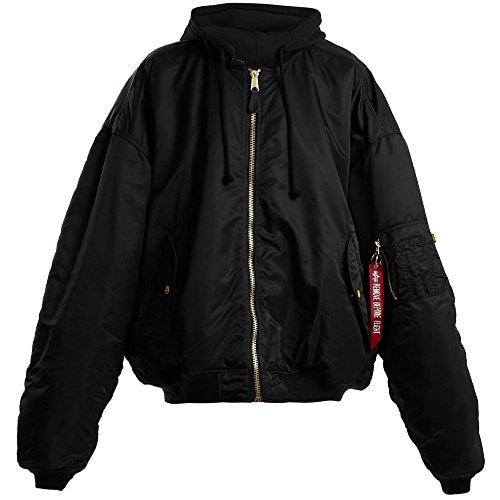 (ヴェトモン) Vetements レディース アウター ブルゾン Oversized reversible hooded bomber jacket [並行輸入品]