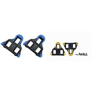 【おすすめセット】シマノ クリートセット(1°フローティング/左右ペア/M5×8mm) 1個 + SHIMANO(シマノ) SM-SH11クリートセット セルフアライニングモード ペア 1個