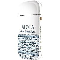 iQOS スキンシール 【 iQOS専用 】 ハワイ ハワイアン 柄 ハート ネイティブ かわいい 海外 デザイン 人気 水彩 iQOS アイコス 表・裏・側面 全面対応