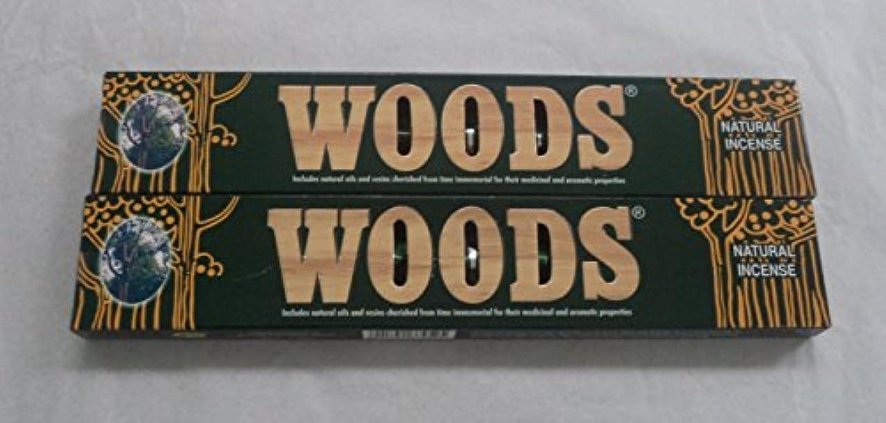 大通り正確焼く森自然Incense Sticks – 2 x 14グラムボックス、28グラム合計、in198