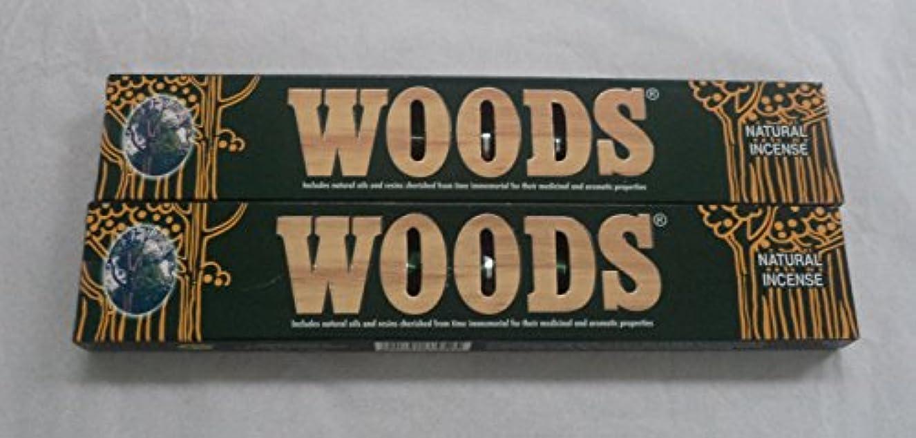 輸送副詞可動森自然Incense Sticks – 2 x 14グラムボックス、28グラム合計、in198