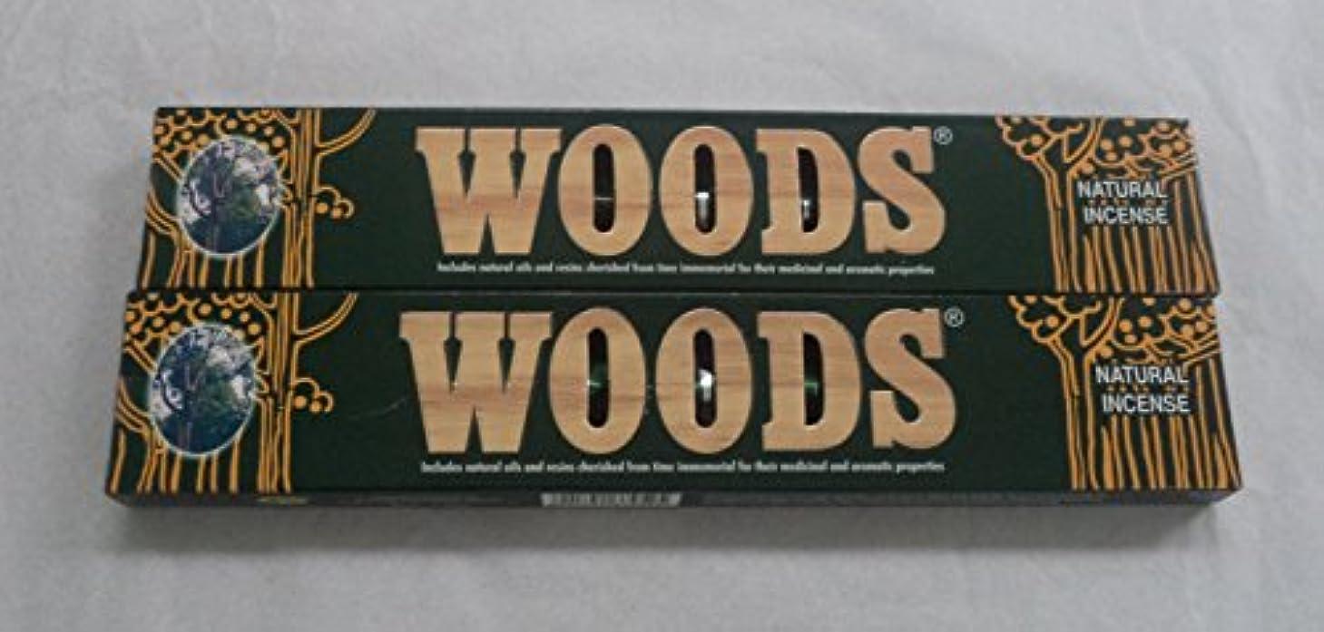 楕円形解任外出森自然Incense Sticks – 2 x 14グラムボックス、28グラム合計、in198