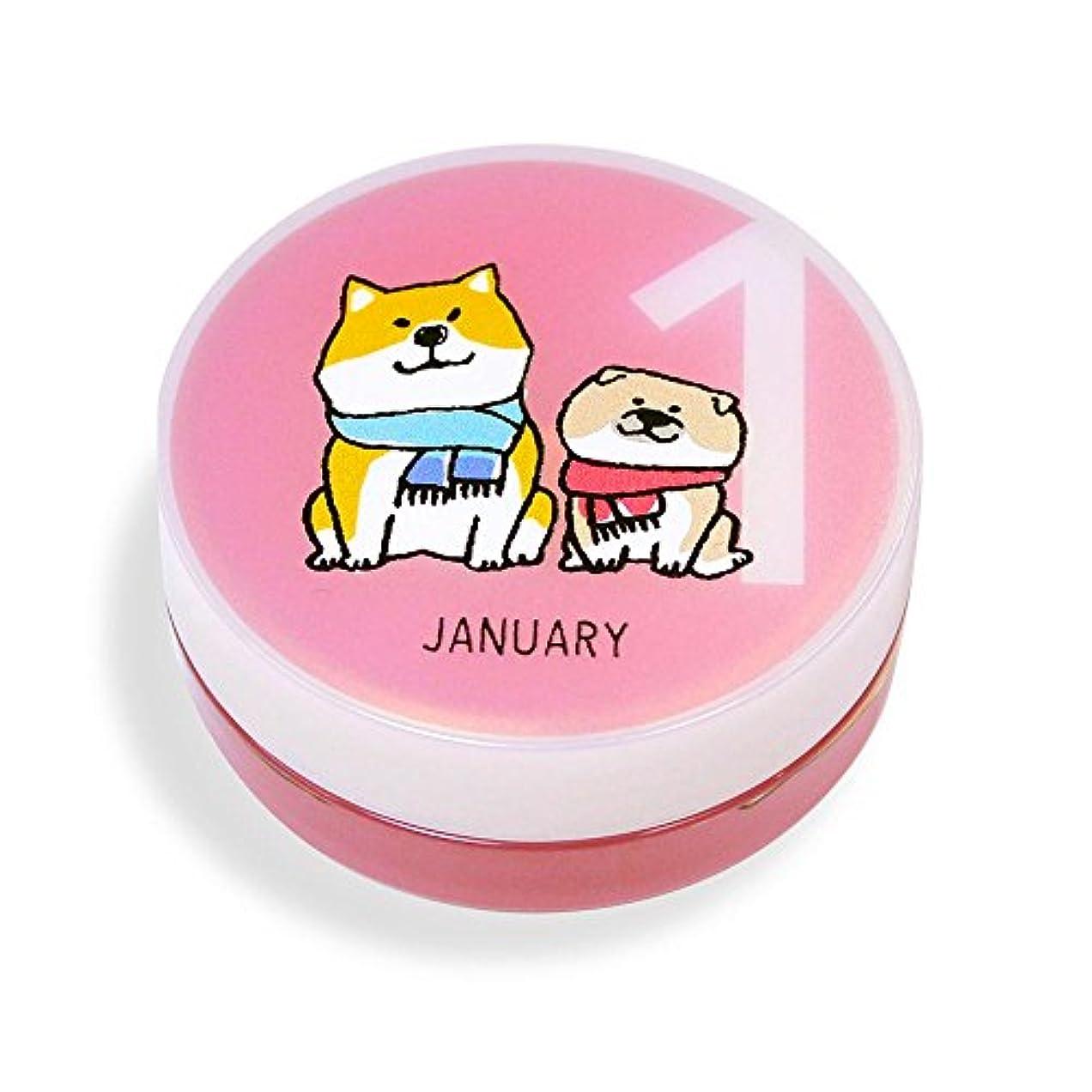 結果打ち上げる確認しばんばん フルプルクリーム 誕生月シリーズ 1月 20g
