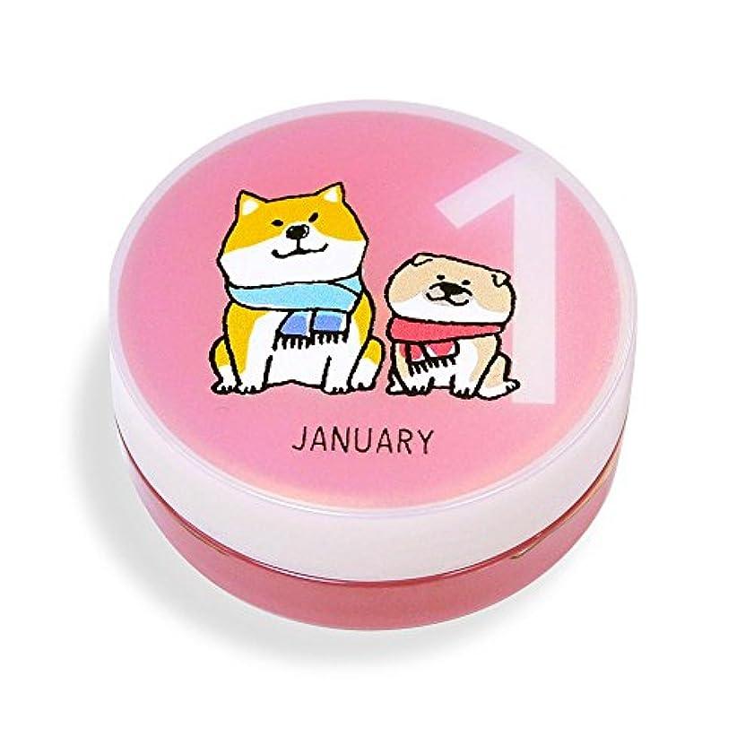 苦味サンダー許可しばんばん フルプルクリーム 誕生月シリーズ 1月 20g