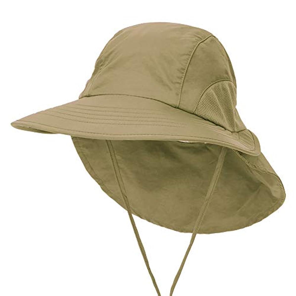 数字調べるコンチネンタル首の折り返し、サファリのための広いつばの帽子、釣り、ハイキング、ビーチ、ゴルフ、ランニング、旅行