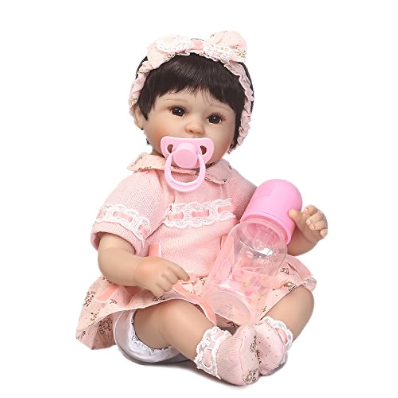 SanyDoll Rebornベビー人形ソフトSilicone 18インチ45 cm磁気Lovely Lifelike Cute Lovely Baby b0763l2yp7