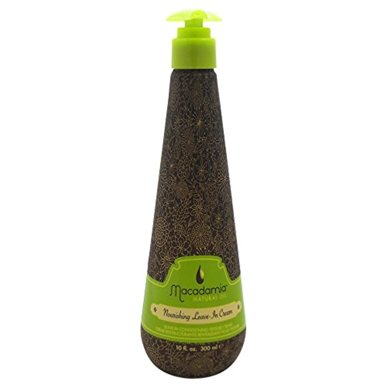 付けるめったにペイントマカダミア ナチュラルオイル(Macadamia NATURAL OIL) MNO ナリシング リーヴイン クリーム 300ml [並行輸入品]