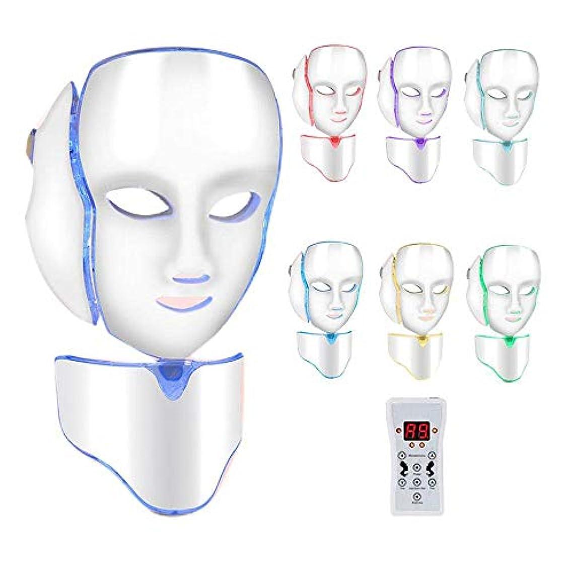 ただやる賞賛する幻想的LED顔面若返りスキンツール、スキントーニングしわのためにアンチリンクルホワイトニング美容機、LEDライトを引き締めフェイストリートメント首の皮は削除します