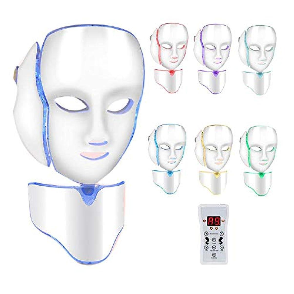 アパル罹患率出血LED顔面若返りスキンツール、アンチリンクルホワイトニング美容機を締め付け最良の効果フェイストリートメントネックスキン、スキントーニングしわのためのLEDライトが削除