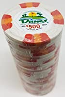 Poker Chips–( 25) $ 500砂丘記念9GramクレイComposite