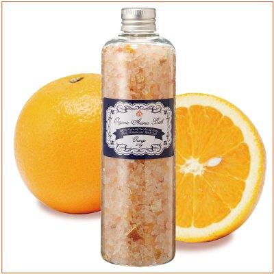【USDA認定香料使用】オーガニックアロマバス320g (オレンジ)