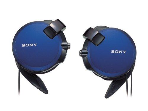 ソニー SONY ヘッドホン MDR-Q68LW : コード巻き取り式 薄型耳かけスタイル ブルー MDR-Q68LW L [並行輸入品]