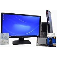 デスクトップパソコン 【OFFICE搭載】 【23インチ FullHD (1920×1080) 液晶モニターセット】 SSD 240GB (新品換装) DELL OptiPlex 980 スモールフォームファクタ(SFF) Core i7 870 /16GB/240GB/DVDROM/ATI RADEON HD 3450/Windows 10 / 新品USBマウス・キーボード付
