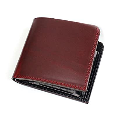 ZOO BADGER BILLFOLD3 二つ折り財布 ZBF-005-RED