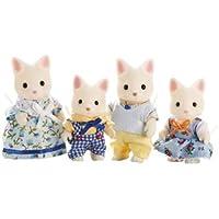 Calico Critters Silk Cat Family おもちゃ [並行輸入品]