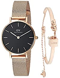 [ダニエルウェリントン]Daniel Wellington 腕時計 レディース ウォッチ Classic Melrose DW00100161 ブレスレット付き [並行輸入品]