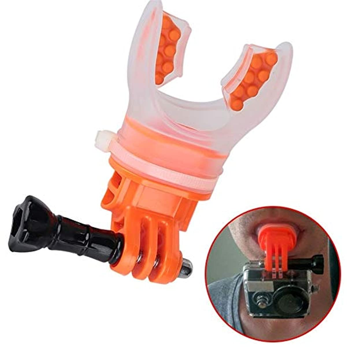 サーフダイビングプロテクションカメラダイビングマスク水中アクセサリーセット g5y9k2i3rw1
