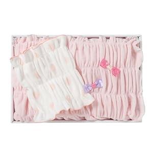 西川産業 SWEET DREAMING BABY GIFT(ゆるふわブランケット/ゆるぴた腹巻き) ピンク LLC5001937-P YP3060