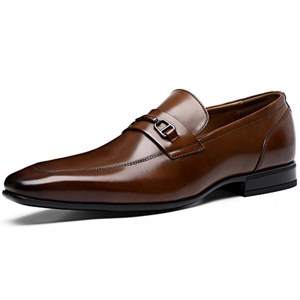 ペインティング用心前述の(フォクスセンス) Foxsense ビジネスシューズ 紳士靴 革靴 ビットタイプ 本革