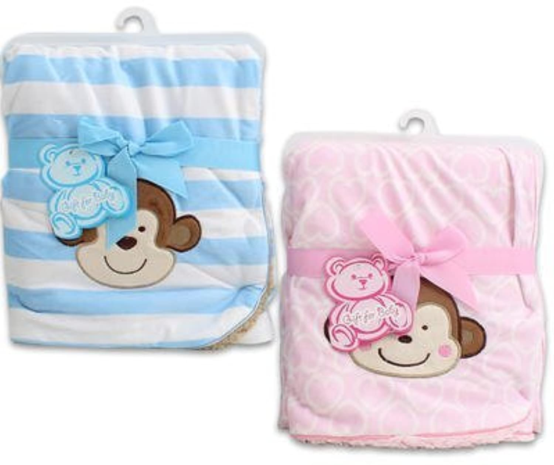 30 X 30 Little Mimos Newborn Pink Baby Blanket by Little Mimos [並行輸入品]