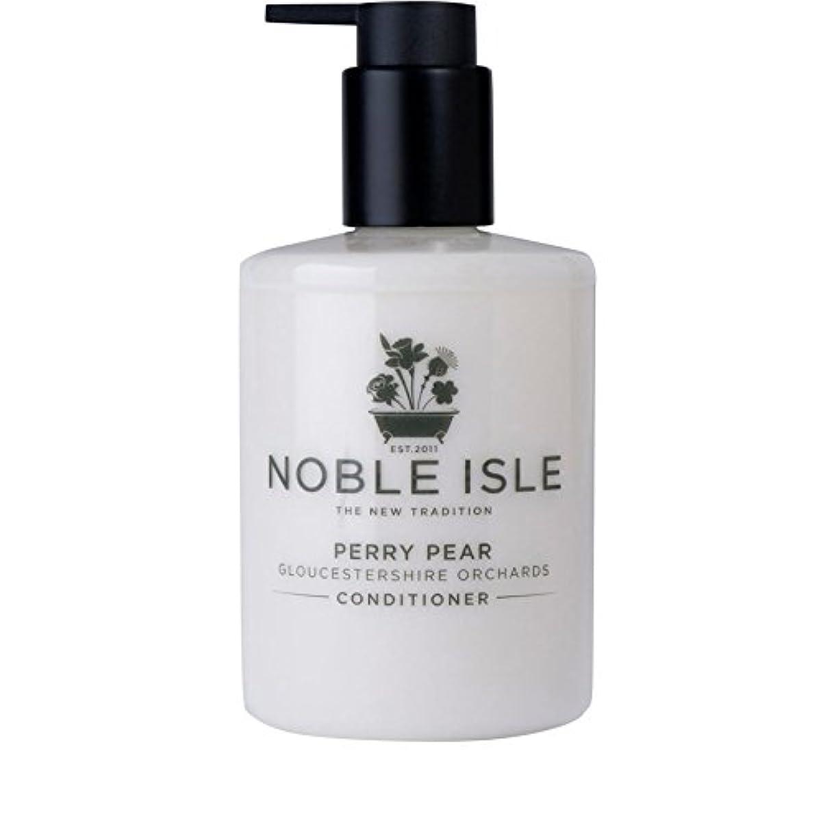 桃解明する囚人Noble Isle Perry Pear Gloucestershire Orchards Conditioner 250ml - 高貴な島ペリー梨グロスターシャー州の果樹園コンディショナー250ミリリットル [並行輸入品]