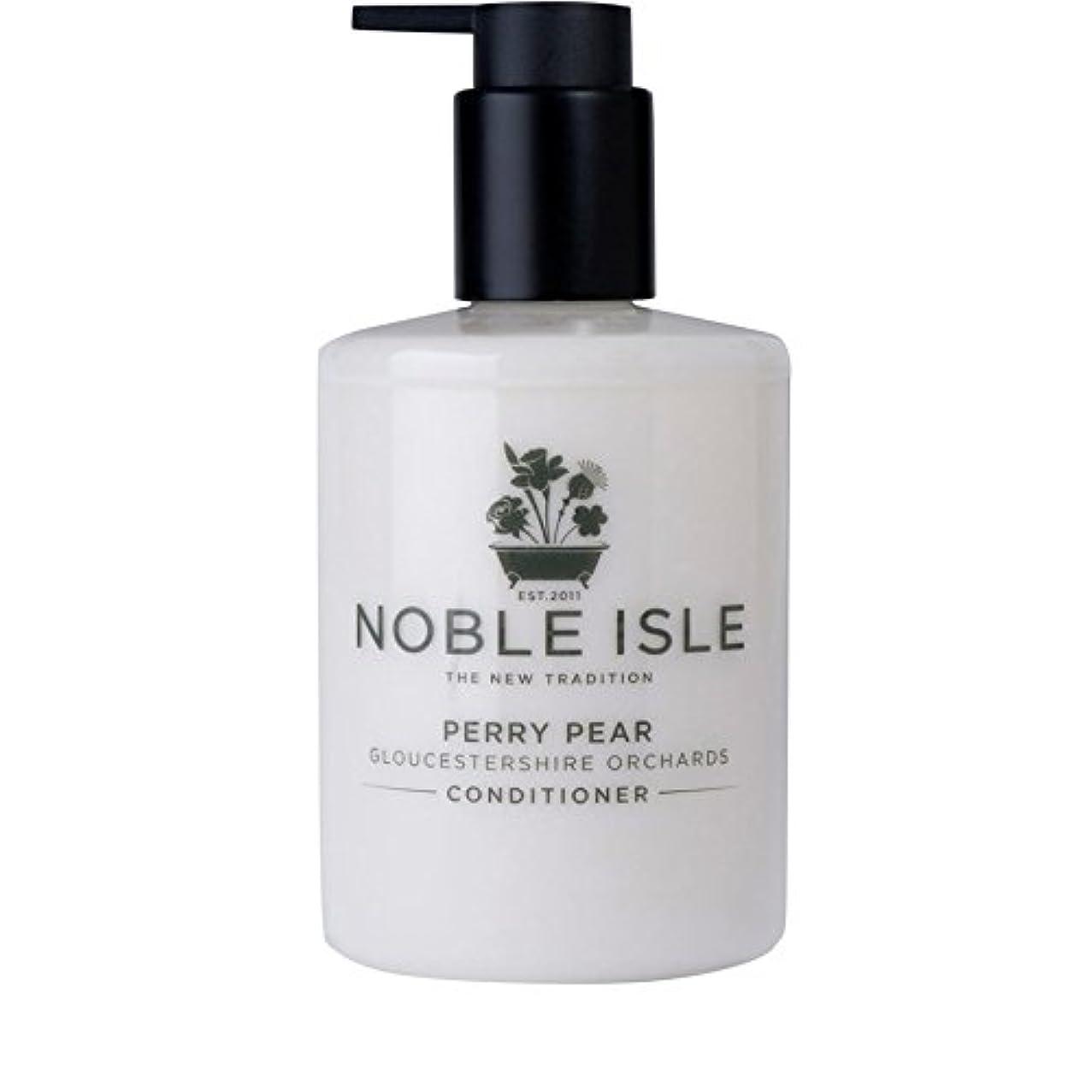 ミュウミュウゆるい膿瘍Noble Isle Perry Pear Gloucestershire Orchards Conditioner 250ml (Pack of 6) - 高貴な島ペリー梨グロスターシャー州の果樹園コンディショナー250...