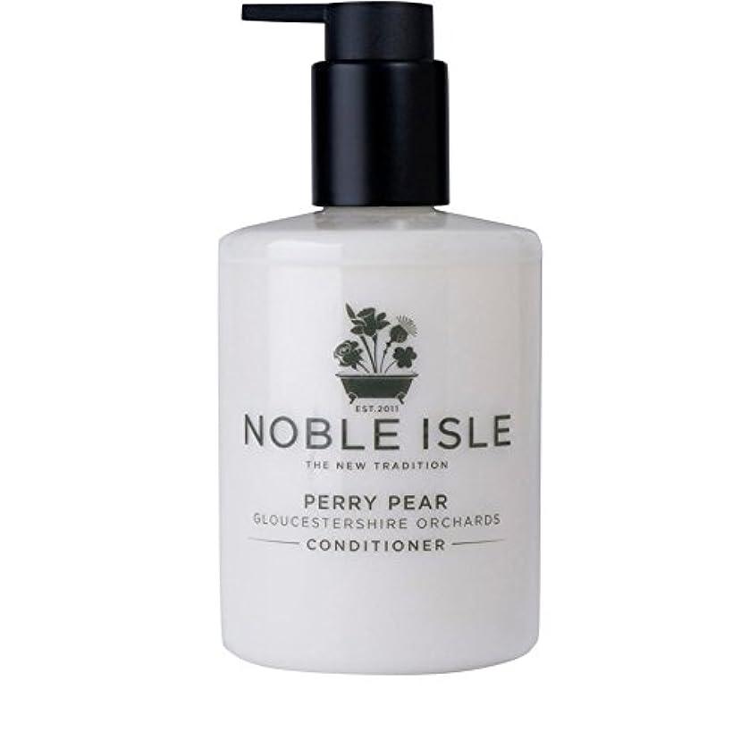 とげのある乳白色抵当Noble Isle Perry Pear Gloucestershire Orchards Conditioner 250ml (Pack of 6) - 高貴な島ペリー梨グロスターシャー州の果樹園コンディショナー250...