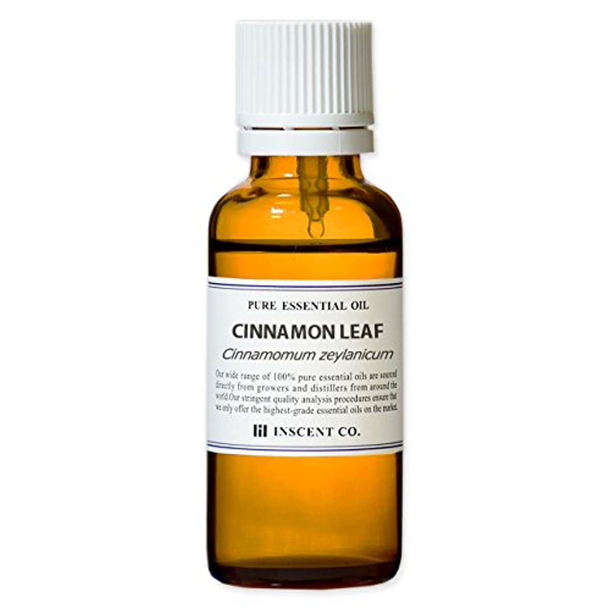心のこもった他に保守的シナモンリーフ 30ml インセント アロマオイル AEAJ 表示基準適合認定精油
