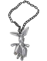 【ノーブランド 品】ファッション かわいい ウサギ ペンダント セーター ネックレス 、派手 パーティー