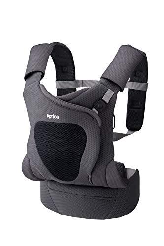 アップリカ Aprica 新生児から使える4Way抱っこひも コアラ メッシュプラス koala Mesh Plus パールムーングレー GR 0か月~ 2079415