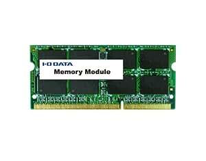 アイ・オー・データ機器 ノートPC用 PC3L-12800(DDR3L-1600)対応メモリー(低電圧・低消費電力モデル) 4GB SDY1600L-H4G/ST