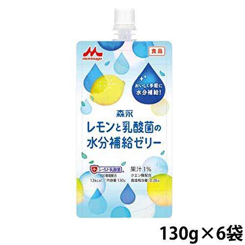 レモンと乳酸菌の水分補給ゼリー 130g×6袋