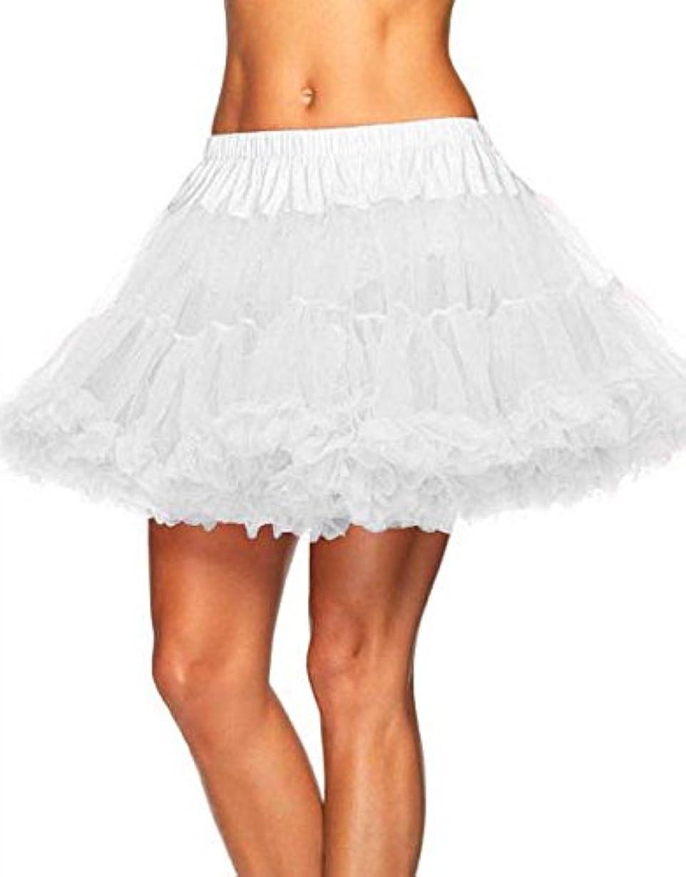 LEG AVENUE レッグアベニュー パニエ ペチコート ホワイト BIG SIZE WHITE 8990X