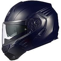 オージーケーカブト(OGK KABUTO)バイクヘルメット システム KAZAMI フラットブラック XL (頭囲 61cm~62cm)