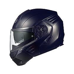 オージーケーカブト(OGK KABUTO)バイクヘルメット システム KAZAMI フラットブラック (サイズ:XL) KAZAMI
