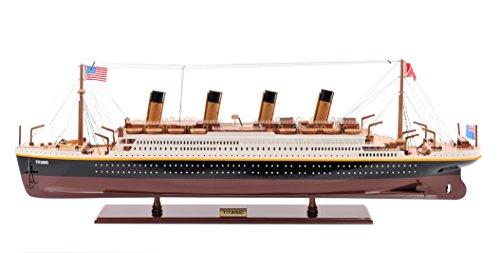 旧現代工芸C013タイタニックは、Sモデルのボート塗装済み完成品