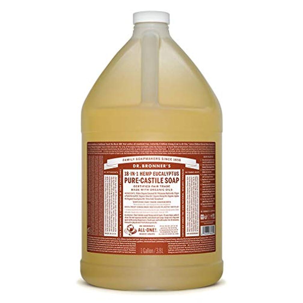 針豆腐過ちドクターブロナー マジックソープ液体 ユーカリ 3776ml