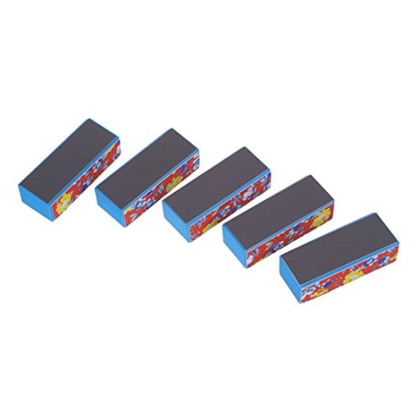 予報断言する応答ACAMPTAR 5ブロック-ファイルバッファ4サイド ネイルアートマニキュア